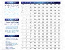 nº 9 pour Design a Ramadaan Calendar par Flywithstyle