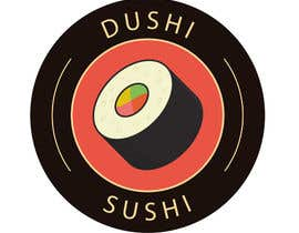nº 10 pour Dushi Dubai Sushi Logo par carlosbc1990