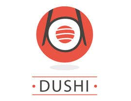 nº 11 pour Dushi Dubai Sushi Logo par carlosbc1990