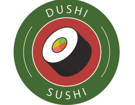 nº 14 pour Dushi Dubai Sushi Logo par carlosbc1990