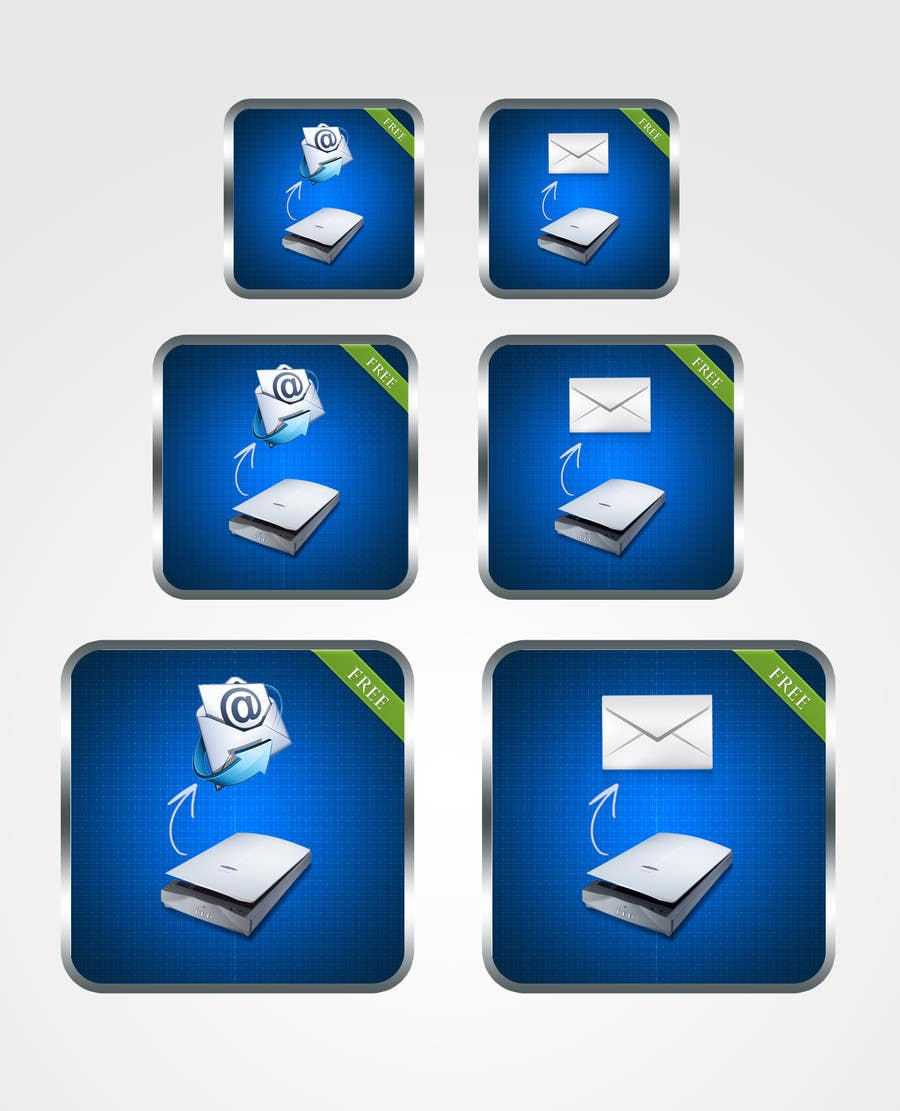 #98 for Icon Design for a Document Scanner Phone App by mightisright