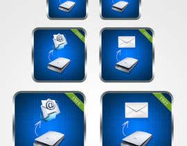 #98 untuk Icon Design for a Document Scanner Phone App oleh mightisright