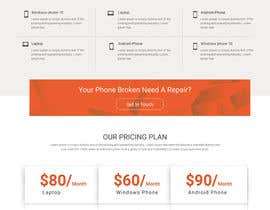 nº 5 pour Design a Website Mockup par webmastersud