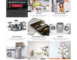 nº 74 pour Design website - homepage and generic product page par Orko30