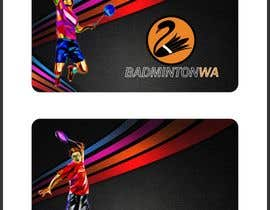 nº 3 pour Redesign / update membership card for badminton association par savasniyanaresh0