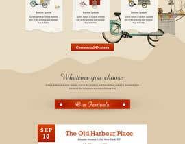 #3 for Criar um Site em conceito Vintage e Lettering - Web Site Vintage concept by webmastersud