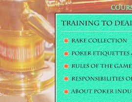nº 4 pour Advert for Casino training course par jacobiitk