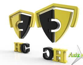 nº 11 pour Convert HC Logo to nice Cinema 4D 3D Artwork par aziz3d