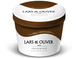 #33 para Print & Packaging Design for Lars & Oliver Real Chocolate Fondue & Sauce por yesiret