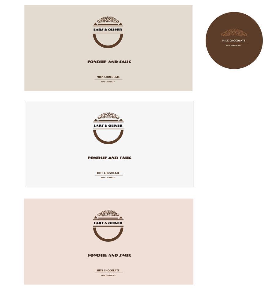 Inscrição nº                                         45                                      do Concurso para                                         Print & Packaging Design for Lars & Oliver Real Chocolate Fondue & Sauce