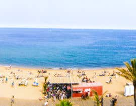 nº 9 pour Design Panorama from 5  Pics (2004) of Barcelona BeachFront  for Print on Alu Dibond par themonarch11