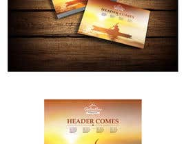 nº 15 pour Give us your best insert card designs! Relentless Recreation Dry Bag Backpack par jayapaldesigners