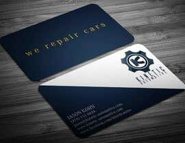 #35 for Design a business card for auto repair shop. by sahajid000