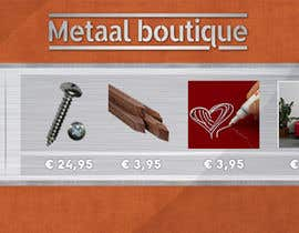 nº 5 pour Facebookheader Metaal boutique par zonicdesign