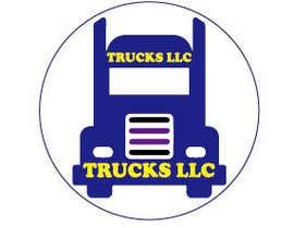 "nº 173 pour ""Trucks LLC"" Logo design par nerobislamrumee1"