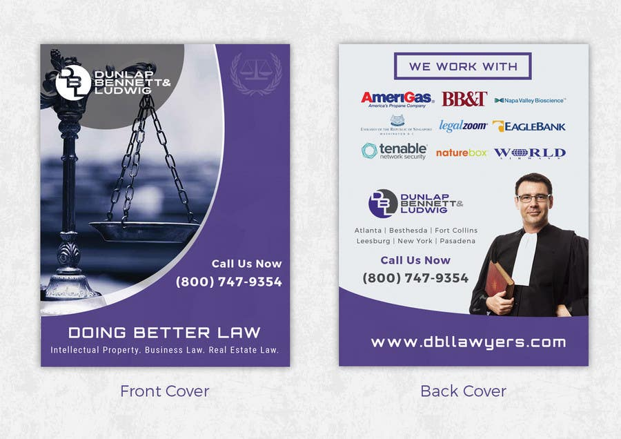 Contest Entry #7 For Law Firm Brochure/ Pitch Book Design Project
