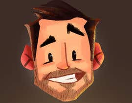 nº 7 pour Create a cartoon/illustrated image of me for use as an online avatar par Carlitosvillas