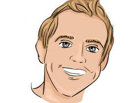 nº 16 pour Create a cartoon/illustrated image of me for use as an online avatar par hendmoawad02