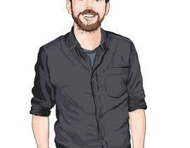 nº 25 pour Create a cartoon/illustrated image of me for use as an online avatar par dedesubeng