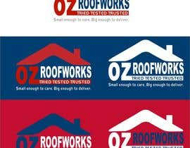 nº 83 pour Design a Roofing company logo par ganeshadesigning