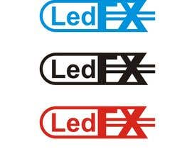 #35 for DESIGN A  LOGO FOR  - Led FX by ramaxdz