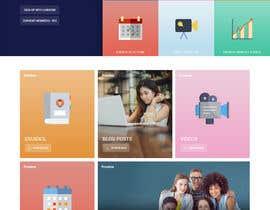 nº 20 pour Design a Website Mockup par zaxsol