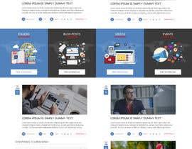 nº 24 pour Design a Website Mockup par sudpixel