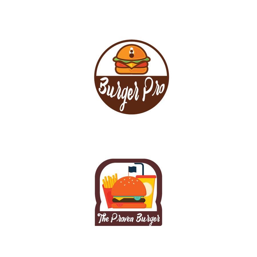 Proposition n°102 du concours Design two Logos for a Burger restaurant