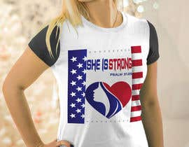 nº 41 pour Design a T-Shirt -  She is Strong par trustgallery
