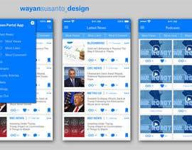 nº 8 pour Design an App Mockup par wayannst