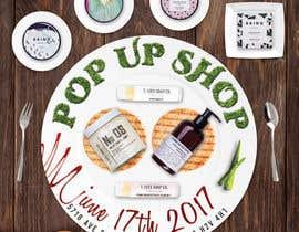 nº 17 pour Pop Up Shop for Vegan, Cruelty Free Makeup and Body Products par frontrrr