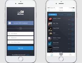 nº 15 pour Design an App Mockup par dusanmitic3