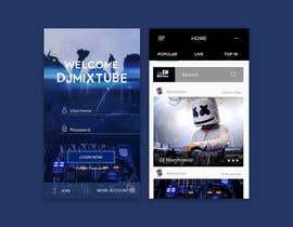 nº 4 pour Design an App Mockup par azzahrialp