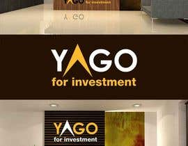 Nro 9 kilpailuun Logo Design for Yago, it's a company for investment, construction and oil käyttäjältä IzzDesigner