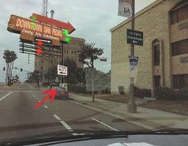 nº 19 pour Photoshop a public city sign that goes over the street par SamuelA314