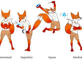 "nº 100 pour Develop a fox as a 'human"" character. par JudeVictor"