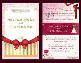 nº 16 pour Wedding Invitation card Design par AnkitAbhinav