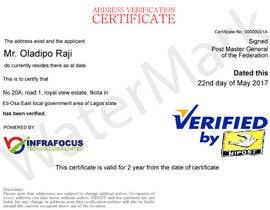 nº 10 pour Design a certificate par JustDesignsss