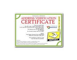 nº 5 pour Design a certificate par meganpawlak