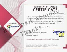 nº 2 pour Design a certificate par AnkitAbhinav