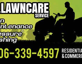 nº 9 pour Design a Banner for A Lawncare Company par frontrrr