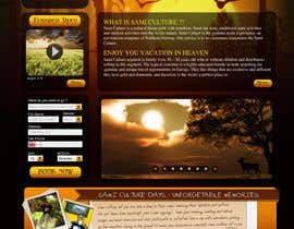 #51 dla Website Design for Sami Culture (Joomla!) przez paalmee