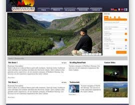 #74 dla Website Design for Sami Culture (Joomla!) przez harrifree