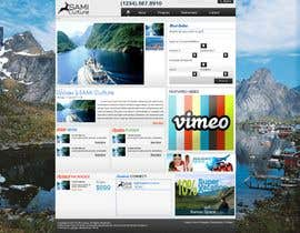 #55 dla Website Design for Sami Culture (Joomla!) przez vhinle