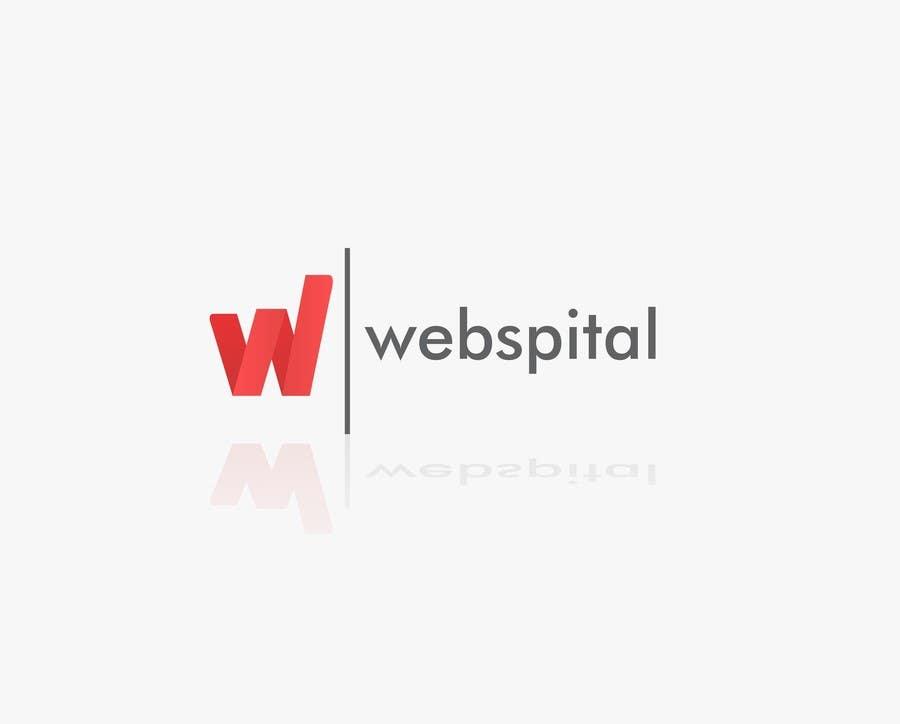 Proposition n°4 du concours Webspital - logo design
