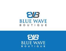 nº 344 pour Design a Logo For eCommerce Store Blue Wave Boutique par reazapple