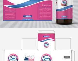 nº 28 pour Create a hip label for a E-Liquid including Logo based on a fruit candy lollipop. par samaritandesign