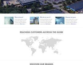 nº 6 pour home page design par Poornah