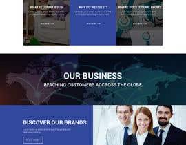 nº 1 pour home page design par saidesigner87
