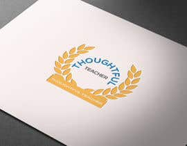 nº 25 pour Thoughtful Teacher Logo par HabiburHR